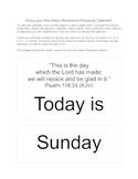 FREE Inspirational Perpetual Calendar Download