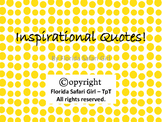 FREE Inspirational Quotes