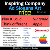 FREE! Inspiring Company Ad Slogans to use for Creative Projects