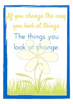 FREE Inspiring Poster and Printable for Your Classroom! {Quote}