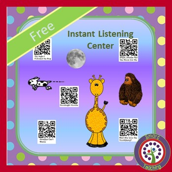 FREE DOWNLOAD - Instant Listening Center - QR Code - Great