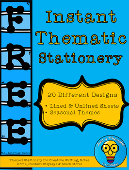 FREE - Instant Thematic Stationery