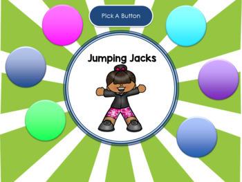 FREE Interactive Brain Breaks PowerPoint Game