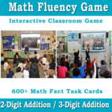 Addition Math Facts Generator FREEBIE | Math Fluency Game