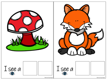 FREE Interactive Vocabulary Expansion: What Do You See? (Attribute + Object)