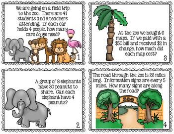 FREE Interpret the Remainder Task Cards