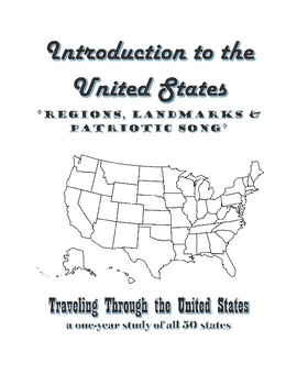 FREE Intro to the US: Regions, Landmarks & Patriotic Songs - Sample Lesson Plan