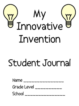 FREE Invention Journal