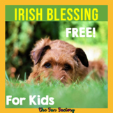 FREE Irish Blessing for March and St. Patrick's Day
