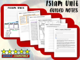 FREE! Islam Unit Structured Notes (4 pages)