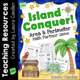 Island Conquer Area and Perimeter Game (Free)