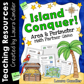 Island Conquer Area and Perimeter Game (Free)