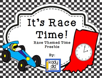 FREE - It's Race Time! (telling time)