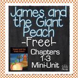 James and the Giant Peach {FREE} Mini-Unit