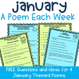 FREE January A Poem Each Week