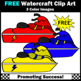 FREE Jet Ski Watercraft Clipart, Beach Theme SPS