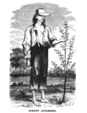 FREE - Johnny Appleseed Coloring Pages