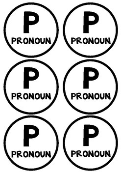 FREE Jolly Grammar Prompts - Black and White
