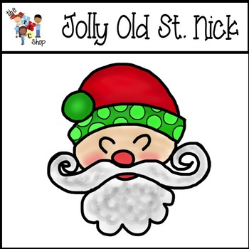 FREE! Jolly Old St. Nick Clipart