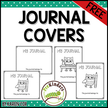 FREE Journal Covers
