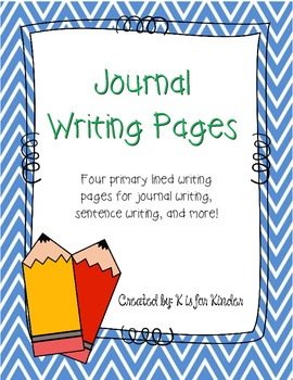 FREE Journal Writing Pages