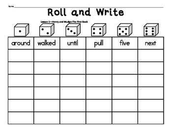 Journeys 2nd Grade High Frequency Words FREE Activities for Lesson 1