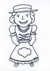 FREE Juliette Gordon Low Flat Juliette Template Girl Scout