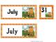 FREE July Calendar Card Set - Pocket Charts