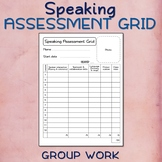 FREE - June 18 - Speaking Assessment Grid X3 (Group work)
