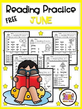 FREE June Reading Practice