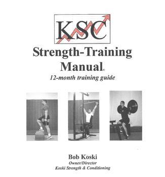 FREE June Workout Bundle- KSC Strength-Training Manual