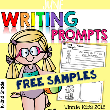 FREE June Writing and Picture Prompts
