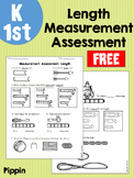 FREE K-1 Length Measurement Assessment Test