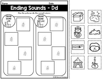 *FREE* K-1 Phonics Printables Packet: Interactive Cut & Paste