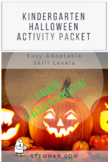 FREE K-1 Sample: Halloween & National Pumpkin Day (October) Fall