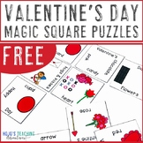 FREE Valentine's Day Vocabulary Center Game, Review, or Activity