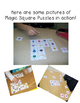 FREE Differentiated Math & ELA Magic Square Puzzles   Use for At Home Learning