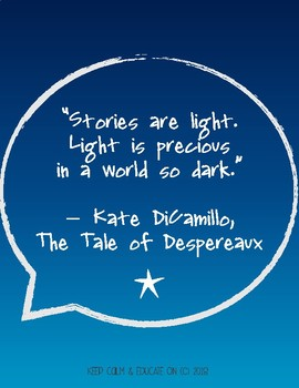 FREE KATE DiCAMILLO POSTERS