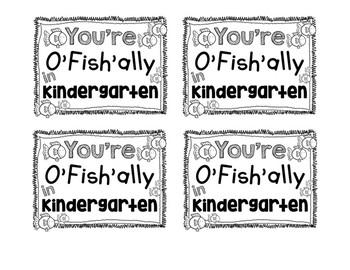 FREE KINDERGARTEN Student Gift