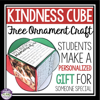 FREE KINDNESS CUBE ACTIVITY / CRAFT