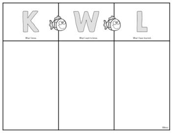 FREE KWL Chart English