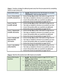 FREE! Kaplan TASC prep 4th edition - Science Self-Study guide for Students