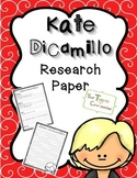 {FREE} Kate DiCamillo Author Research Paper