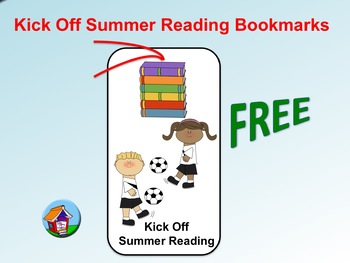 FREE Kick Off Summer Reading Bookmarks