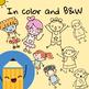 FREE Kids Clip Art - Katrina Keegan Clips - BIG SET (64 images clipart )