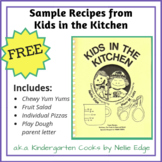 FREE Kids in the Kitchen Recipes