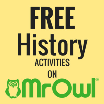 FREE Kindergarten History Activities on MrOwl