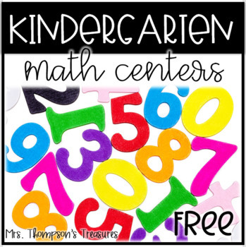 FREE Kindergarten Math Center Making Five
