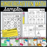 FREE - Kindergarten Math Sampler
