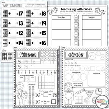 FREE - Kindergarten Math Sampler